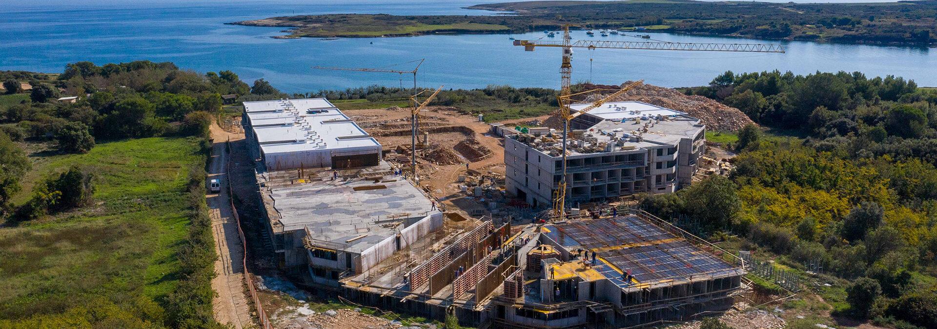 A new Resort Del Mar holiday apartment complex is set to open in Ližnjan (Croatia)